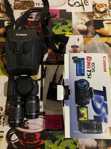 Câmera Cânon T5i - Duas Lentes