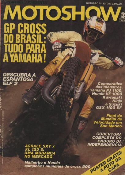 Motoshow N°20 Agrale Sxt Xl 125s Fj 1100 Vf 1000 Ninja Gsx
