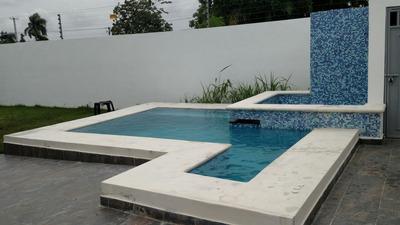 Hermosa Casa En Renta En Gurabo En Santiago En Rd