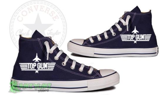 Tênis Top Gun Maverick All Star Converse Customizado Unissex