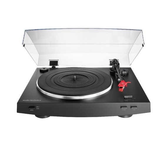 Toca-discos Audio-technica At-lp3bk Preto (belt-drive)