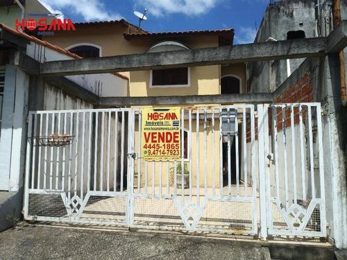 Sobrado Com 3 Dormitórios À Venda, 100 M² Por R$ 430.000,00 - Jardim Progresso - Franco Da Rocha/sp - So1029