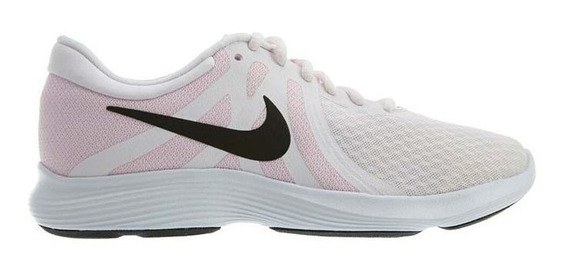 Tenis Nike Revolution 4 Gs Gris/azul - 943309 014 C