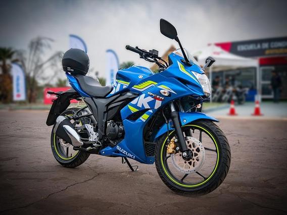 Suzuki Gixxer Sf 150cc Mod. 2018 Azul - Como Nueva