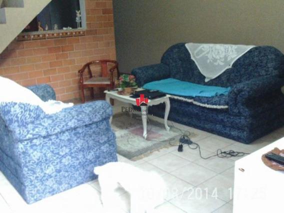 Sobrado Frontal 5 Dormitórios Sendo 1 Suíte, 2 Vagas, Em Vila Ré. - Pe17463