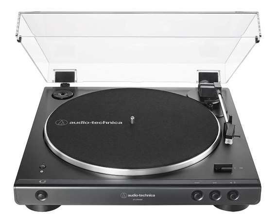 Toca Discos Bluetooth Audio Technica At-lp60xbt-bk Preto Rca