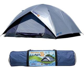 Barraca Luna Impermeável Camping Para Até 6 Pessoas Mor