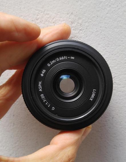 Lente Lumix 20mm 1.7 - Mft