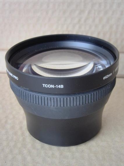 Lente Olympus Tele Converter Tcon-14b 62mm