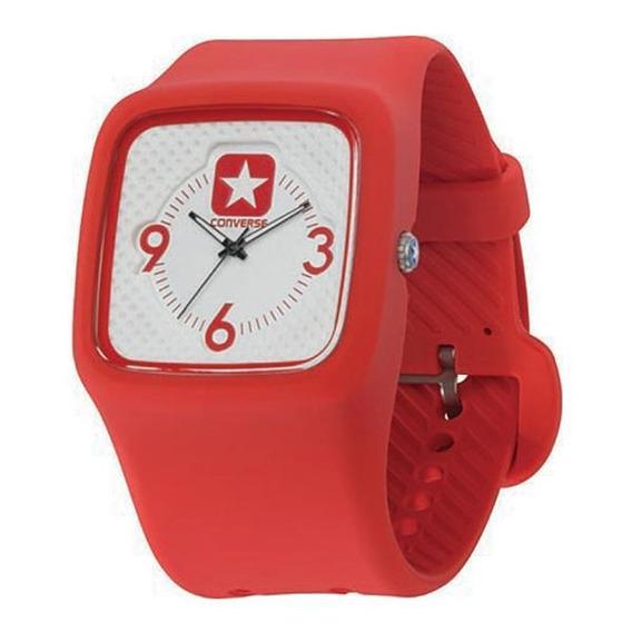 Relógio De Pulso Converse Clocked Ii - Vermelho