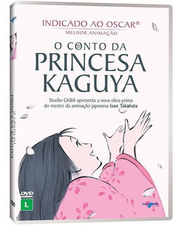 Dvd O Conto Da Princesa Kaguya - Original (lacrado)