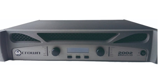 Crown 2002 Xti Amplificador Mekanika L/s