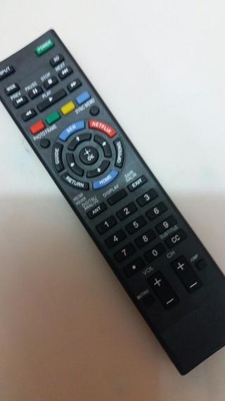 Controle Remoto Tv Sony Braiva Lcd Led Modelo Rmyd101
