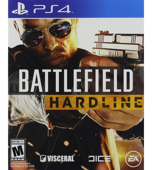Battlefield Hardline Ps4 Mídia Física Lacrado