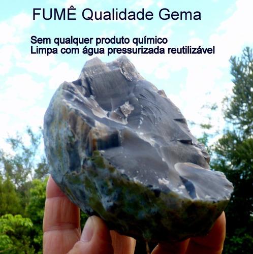 Fumê Bruto Natural Pedra Preciosa Qualidade Gema 7112