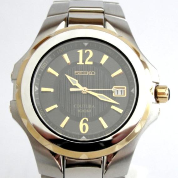 Relógio Seiko Coutura 7n42-0ej0 - Novo - Único No M. L.