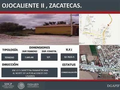 Terrenos En Venta En Zacatecas.