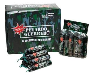 Petardo Guerrero Multicolor Fuegos Artificiales Pirotecnia