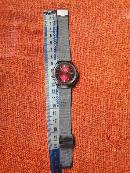 Raro Relógio Citizen Automático Mostrador Colorido Leia Desc