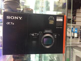 Camara Sony A7iii Solo Cuerpo Nuevo En Caja
