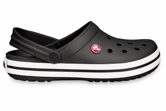 Zuecos Crocs Crocband Negro Niño