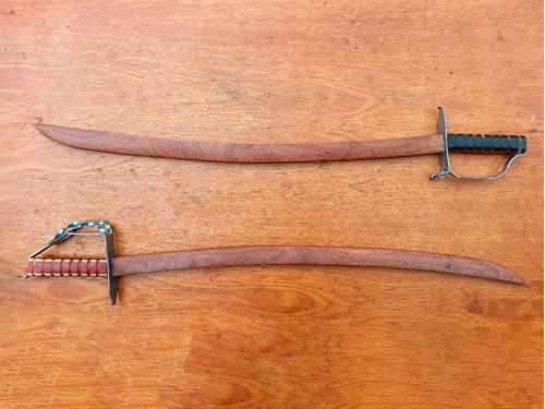 Sabres Em Madeira / Espada De Madeira / Hema / Waster