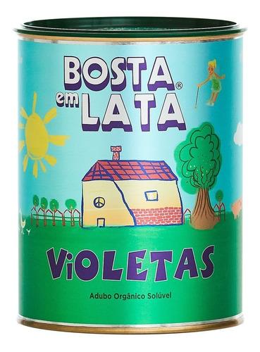 Fertilizante Orgânico Bosta Em Lata Violetas - 400 G