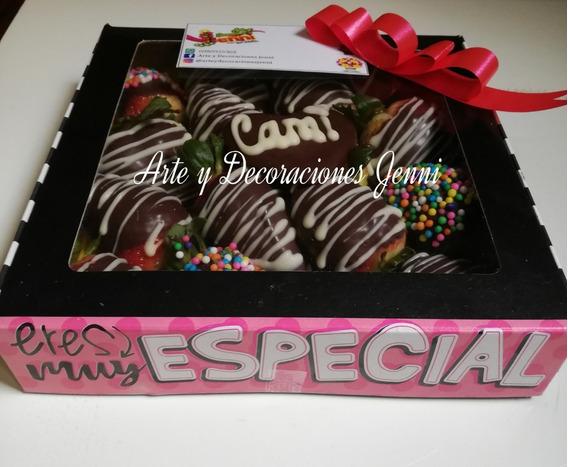 Fresas Con Chocolate, Arreglos Frutales, Cajas De Frutas