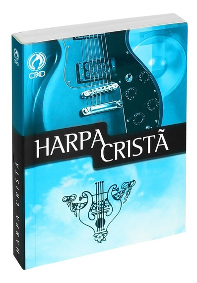 Harpa Cristã Popular Grande Azul Cpad