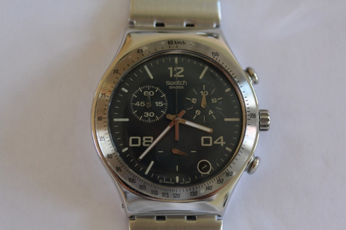 Relogio Swatch Blustery Ycs438 Cronógrafo Quartz Swiss My855