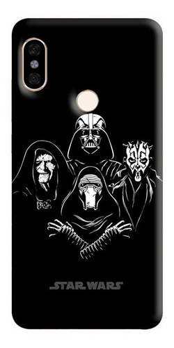 Estuche Forro Cascasa Star Wars iPhone, Samsung, Huawei