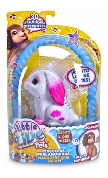 Juguete Interactivo Animalito Parlante Little Live Pets