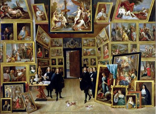 Puzzle Rompecabezas Tomax Archiduque En Su Galeria 4000 Piez