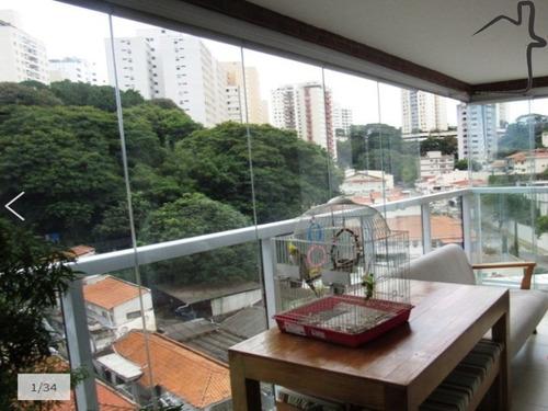 Apartamento Alto Da Lapa 102m² 3 Dorms. 1 Suíte 2 Vagas - Ap01223 - 69274704