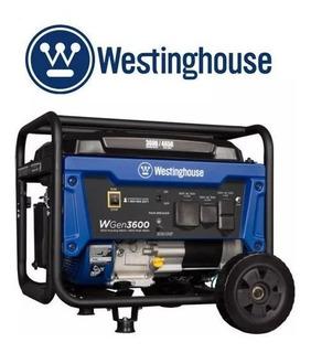 Generador Westinghouse 3600 A 4650 A Gasolina