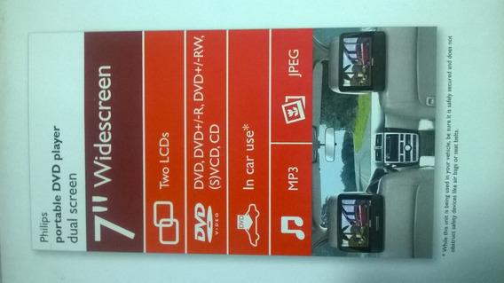Dvd Portatil Para Carro Y/o Casa Philips