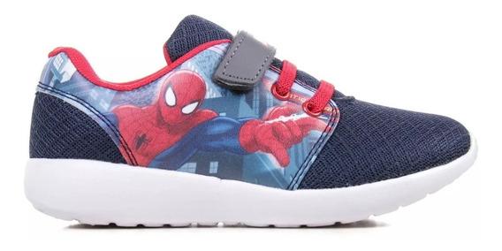 Zapatilla Marvel Velcro Spiderman Mvl004 Nene Asfl70 Oferta