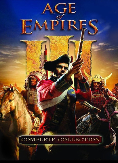 Age Of Empire 3 Complete Edition + Expanções - Digital Pc