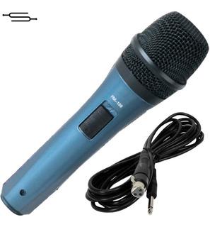 Micrófono Karaoke Conferencias + Cable Plug Metal - Envio