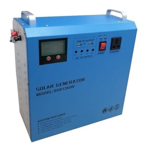 Inversor Cargador Solar 500w /12v Portable. Motorhome /campo