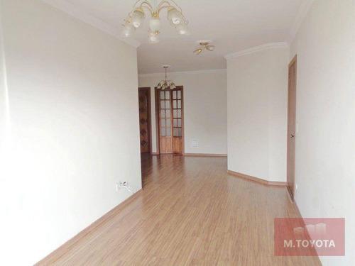 Imagem 1 de 30 de Apartamento À Venda, Com 3 Dormitórios (1 Suíte) E 2 Vagas - Vila Rosália - Guarulhos / Sp - Ap0173