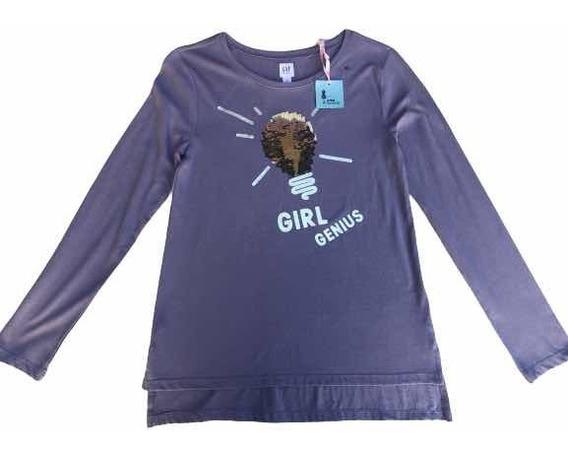 Remera Gap De Niña Girl Genius