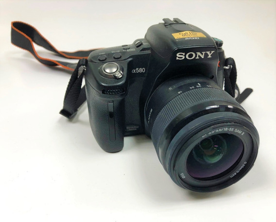 Camara Sony Alpha 580