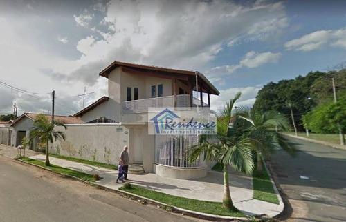 Casa Com 3 Dormitórios À Venda, 254 M² Por R$ 850.000 - Vila Maria Helena - Indaiatuba/sp - Ca0482