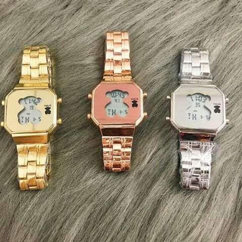 tienda de liquidación b677e a5f12 Reloj Digital Mujer Tous en Mercado Libre México