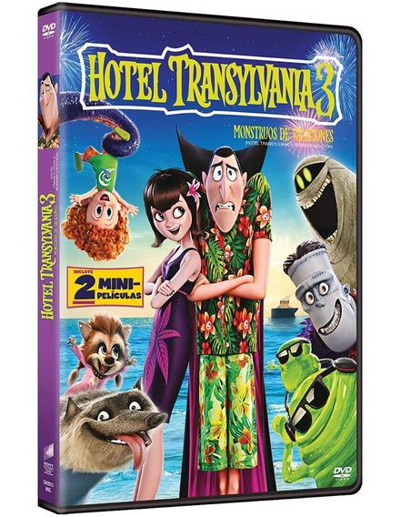 Hotel Transylvania 3 Monstruos De Vacaciones Pelicula Dvd