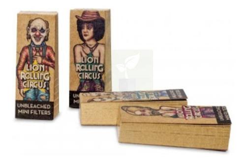Filtros Tips Lion Rolling Circus 50 U. Salamanca Grow Haedo