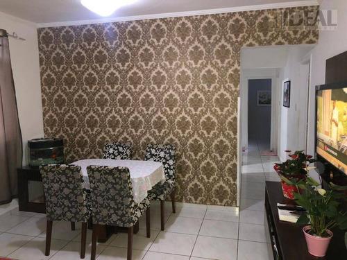 Apartamento À Venda, 95 M² Por R$ 460.000,00 - Pompéia - Santos/sp - Ap3133
