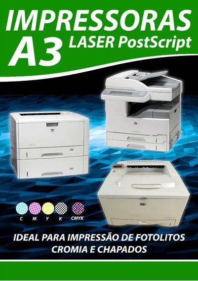 Impressora Para Estamparia Formato A3