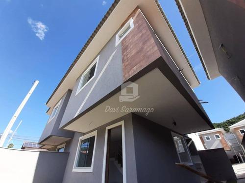 Casa Com 3 Dormitórios À Venda, 82 M² Por R$ 530.000,00 - Piratininga - Niterói/rj - Ca0518